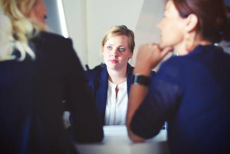business meeting 3 women